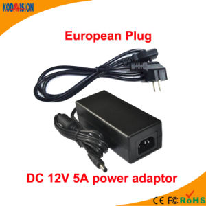 AC/DC Adapter 12V 5A Switching Power Adaptor pictures & photos