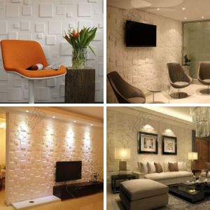 Factory Price Interior and Exterior Waterproof 3D PVC Wall Panel pictures & photos