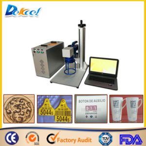 3D 20W 10W Fiber Laser Marking Cup/Package/Box Solution 100*100mm pictures & photos