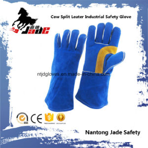 Furniture Leather Work Safety Industrial Glove pictures & photos