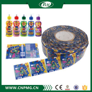 Bottle Cap PVC Shrinkabel Label Printing pictures & photos