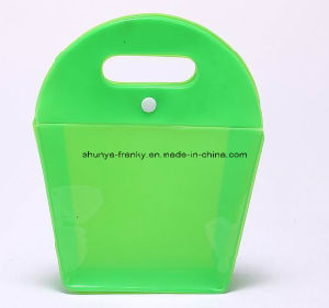 Colored EVA Cosmeitc Bag with Button Close and Hadle pictures & photos