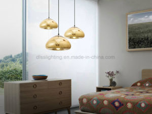 Hot Sell Modern Void Light Mini Polished Apple Glass Electroplate LED Pendant Lamp for Dining Room pictures & photos