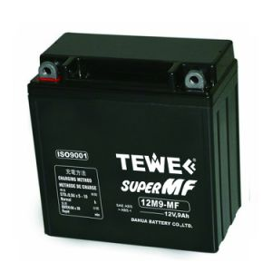 Tewe 12V 9ah Sealed Maintenance Free Motorcycle Battery pictures & photos