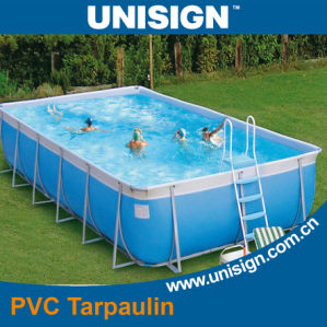 PVC Waterproof Tarpaulin for Swimming Pool pictures & photos