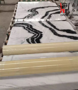 Natural Panada White Marble Slab with Chinese Origin