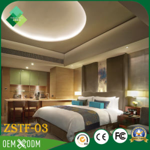 Chinese Style Double Color Wardrobe Design Bedroom Furniture Set (ZSTF-03) pictures & photos