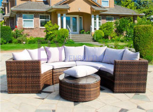 PE Rattan Sofa Set Outdoor Sofa Set Garden Furniture pictures & photos