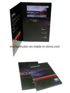 Custom Design 5inch LCD Screen Promotion Video Invitation Book (VC-050) pictures & photos