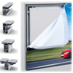 Tension Fabric Single Sided Display Frame Graphic Freestanding System pictures & photos