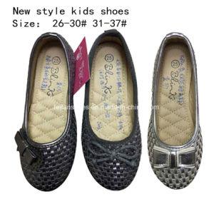 Children Fashion Sweet Bowknotballet Flat Ballerina Girl Dress Shoes (mm171) pictures & photos