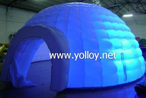 Inflatable Lighting Igloo Tent Inflatable Dome pictures & photos