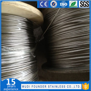 Ss304 or Ss316 Stainless Steel Wire Rope pictures & photos