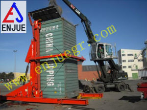 Hydraulic Telescoping Container Loading Tilter with Loading Reading Cell pictures & photos