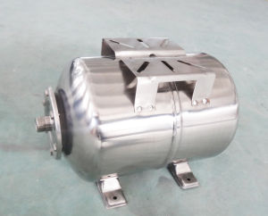24L Stainess Steel Horizontal Tank for Automatic Water Pump pictures & photos