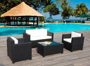 Modern PE Rattan Kd Outdoor Furniture