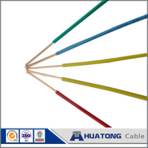 Indoor Wire Green Earth Cable PVC Insulated Earthing Wire pictures & photos