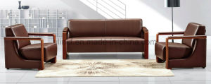 Excellent Quality Best Sell Leather Modern Office Sofa (HX-CF001) pictures & photos