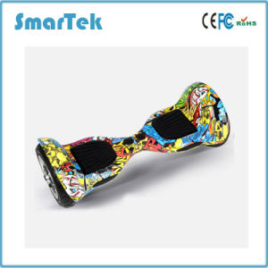 Smartek Two Wheels Scooter Patinete Electrico Self Balancing Electric Hiphop Graffiti Scooter Board with LED Light S-002-CN pictures & photos