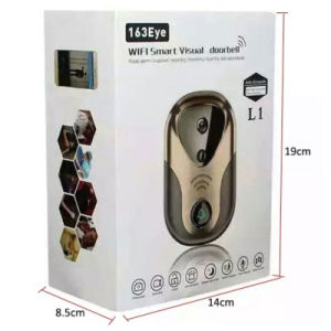 Home Security Wdm 720p WiFi Doorbell IP Camera pictures & photos