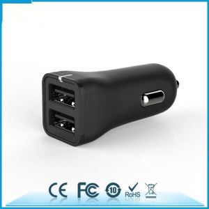 2.4 a Mini Dual USB Car Charger pictures & photos