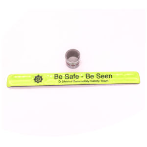 High Quality Printed Elastic Gift Wristband pictures & photos