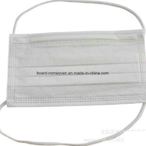 China Manufacter Supply 2ply or 3ply Surgical Non-Woven Face Mask with Head-Mounted Earloop pictures & photos