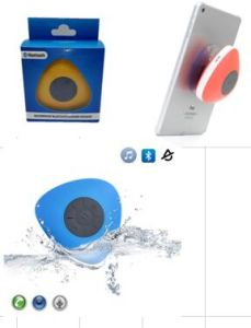 for PS2 Waterproof Sucker Bluetooth Speaker pictures & photos