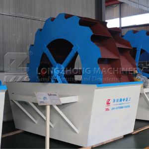 Top Quality Silica Sand Washing Machine in Russia pictures & photos