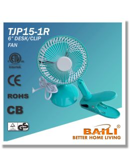 "Hot Sale 6"" Mini Desk/Cliip Fan pictures & photos"