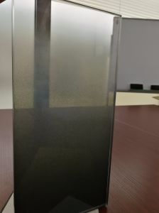 10mm Low Iron Frost Glass Gradient Acid Etched Glass pictures & photos