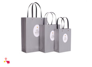 China Manufacture High Quality Customized Logo Printed Card Paper Shopping Bag pictures & photos