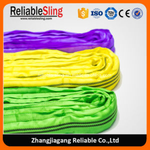 Color Coded Polyester Endless Soft Round Sling Sf 6: 1 pictures & photos