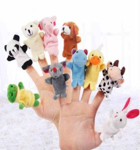 Best Made Plush Animal Finger Puppets pictures & photos