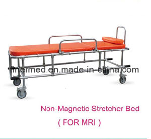 Non Magnetic Rescue Stretcher Trolley Bed pictures & photos