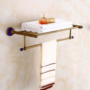 FLG Bathroom Shelf Bath Towel Rack Wall Mounted Bathroom Set pictures & photos
