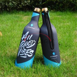 Beer Beverage Holder, Neoprene Insulated Wine Bottle Cooler Bag (BC0006) pictures & photos