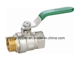 Nickle Plating Brass Ball Valve for Drinking Water pictures & photos