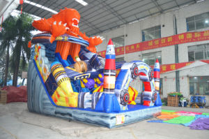 Commercial Grade Alien Monster Inflatable Slide Dry Slide for Sale pictures & photos
