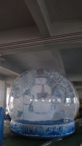 Customized Inflatable Snow Globe/Advertising Inflatable Christmas Globe pictures & photos