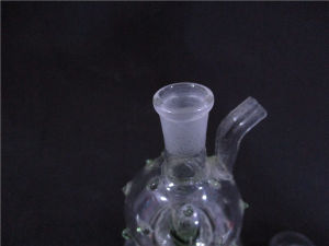 Mini Smoking Water Pipe with Beautiful Red Spot pictures & photos