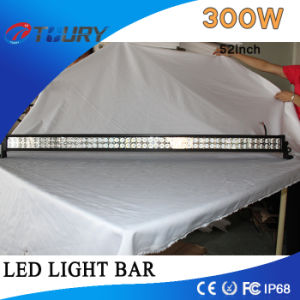 LED Auto Driving Work Light Bar 300W for off-Road Vehicles, Trucks, Ship Excavators pictures & photos