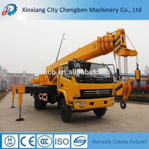 Full Set Certificates Mobile 16 Ton Crane Truck with Lifting Arm for Sale pictures & photos