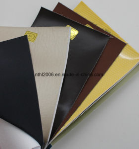 Cheap and Wholesale PU Mixed Stocklot Leather pictures & photos