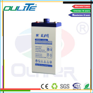 Oliter Sealed VRLA 2V 200ah Lead Acid Battery for Solar System pictures & photos