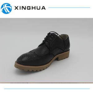 Good Design Men Genuine Leather Shoes for Office Shoes pictures & photos