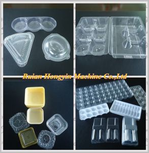Plastic PVC Tray Automatic Thermoforming Machine pictures & photos
