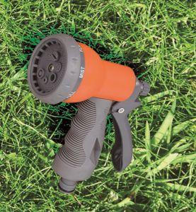 """6 Patterns 1/2"""" Garden Sprayer Adjustable Plastic Water Spray Gun with Comfortable Grip pictures & photos"""