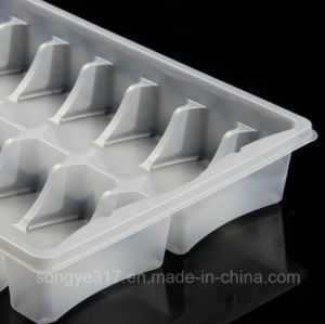 PVC Transparent Rectangular Food Blister Box pictures & photos
