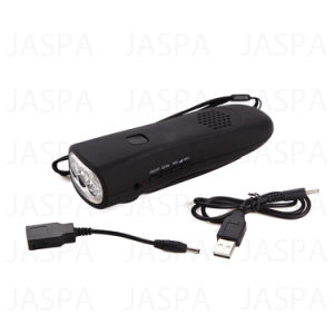 High Quality Dynamo Radio Flashlight----Smart Phone Charger pictures & photos